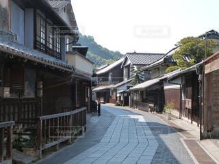 竹原の町並みの写真・画像素材[1694838]