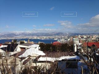 冬の函館の写真・画像素材[1739601]