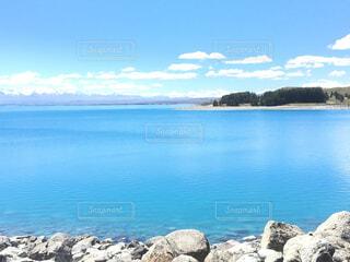 プカキ湖の写真・画像素材[1839837]