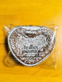 ハートのチョコケーキの写真・画像素材[1693499]