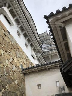 姫路城のどの辺りだ?の写真・画像素材[1684789]
