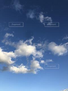 青空と雲の写真・画像素材[1693147]