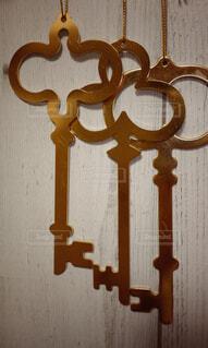 3本の鍵の写真・画像素材[2104932]