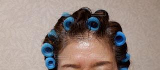 髪の毛セットの写真・画像素材[2391351]