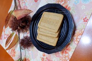食物繊維入りクッキーの写真・画像素材[2411002]