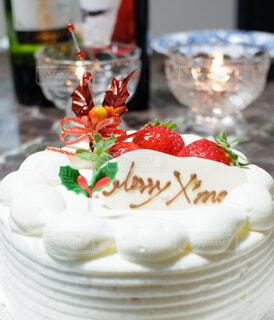クリスマスケーキの写真・画像素材[3212188]
