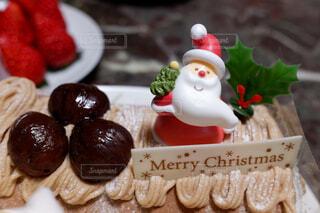 クリスマスケーキの写真・画像素材[4456372]