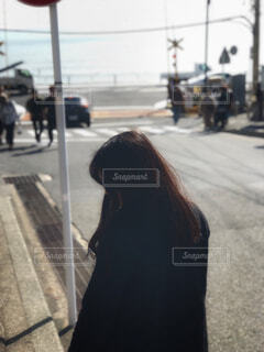 鎌倉高校前との写真・画像素材[1670256]