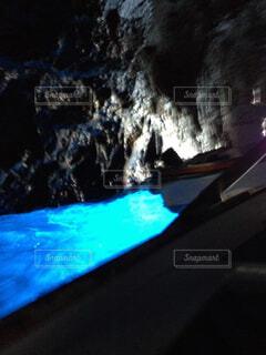 カプリ島青の洞窟の写真・画像素材[1684875]