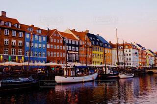 デンマークの街並みの写真・画像素材[1676141]