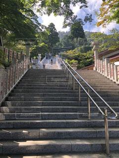 神奈川県伊勢原市・大山阿夫利神社の階段の写真・画像素材[3678770]