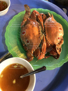 ベトナムの屋台の蟹の写真・画像素材[2915100]
