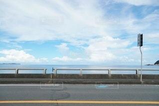 海沿いの道路の写真・画像素材[3612278]