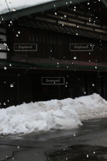 雪どけの写真・画像素材[1675665]