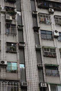 台湾のビルマンションの写真・画像素材[1677107]