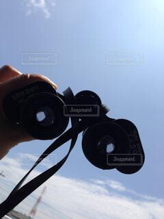 双眼鏡の写真・画像素材[1678964]