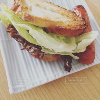 サンドイッチの写真・画像素材[1676766]