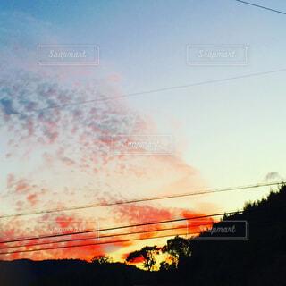 夕焼けの写真・画像素材[1679623]