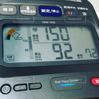 血圧計の写真・画像素材[1679829]