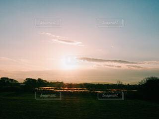 夕日の写真・画像素材[1676821]