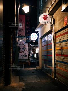 ソウルの夜の写真・画像素材[1730114]