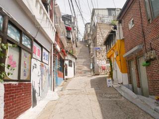 韓国の人気撮影スポットの写真・画像素材[3809922]
