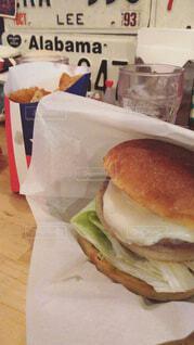 ハンバーガーの写真・画像素材[1676049]