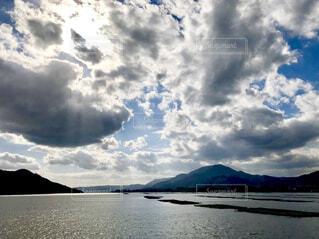 青い空青い海の写真・画像素材[1677003]