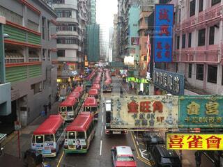 香港の街並みの写真・画像素材[1677736]