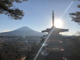 雄大な富士の写真・画像素材[1725208]