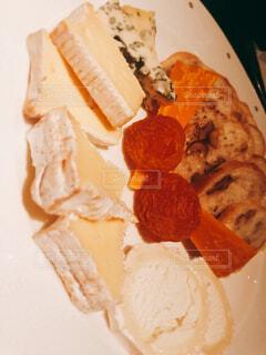 チーズ盛り合わせの写真・画像素材[1725241]