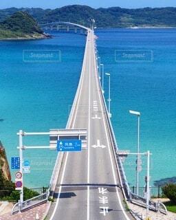 角島大橋の写真・画像素材[3845724]