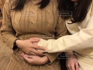 妊婦のお腹の写真・画像素材[1922022]