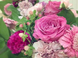 ピンクのブーケの写真・画像素材[1684138]