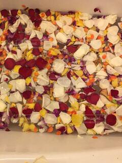 近くの花のアップの写真・画像素材[1684050]