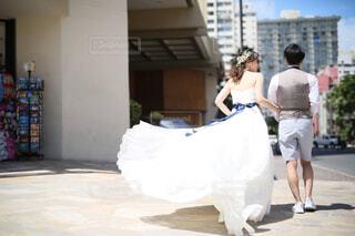 ハワイ挙式の一コマの写真・画像素材[1790486]