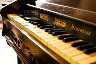 ピアノの接写の写真・画像素材[2115284]
