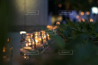 夜のライトアップ・シティの写真・画像素材[2170370]
