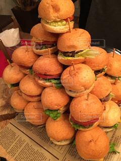 ハンバーガーの写真・画像素材[287779]