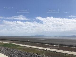 佐賀県の干潟の写真・画像素材[1695297]