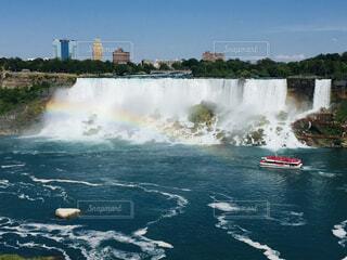 カナダ側からの眺めナイアガラの滝の写真・画像素材[1687958]
