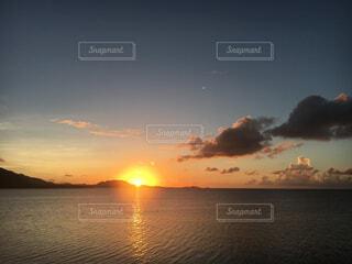 石垣島の夕日の写真・画像素材[1687375]