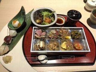 アートの様な和食のお膳の写真・画像素材[1687586]