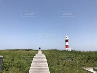 石狩灯台の写真・画像素材[1697385]