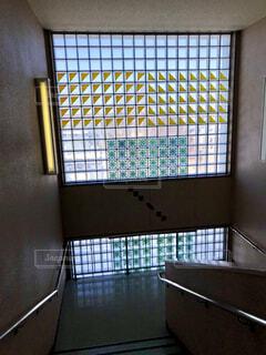 中学校の階段の写真・画像素材[4254045]