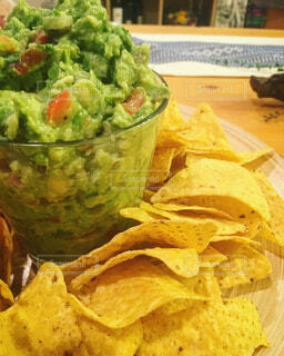 Chips & Guaca (close)の写真・画像素材[1689343]