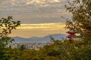 清水寺からの眺めの写真・画像素材[1694926]