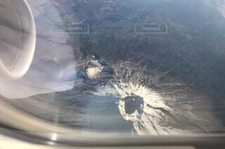 2018年11月21日富士山火口の写真・画像素材[1688608]