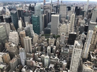 上から見下ろす都市の写真・画像素材[1692109]