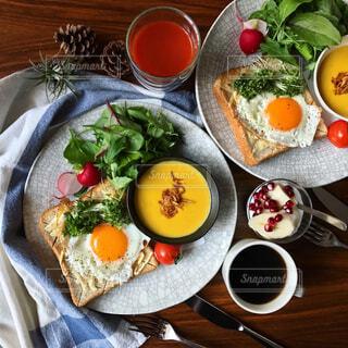 朝ごはんの写真・画像素材[288052]